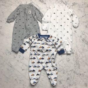Carter's Koala Baby Whale Lamb Bear Onesie Bundle